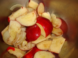 Apples, Onion and Cinnamon