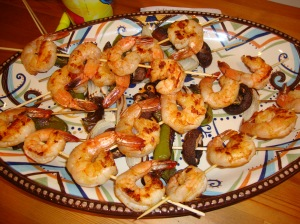 Shrimp Skewers